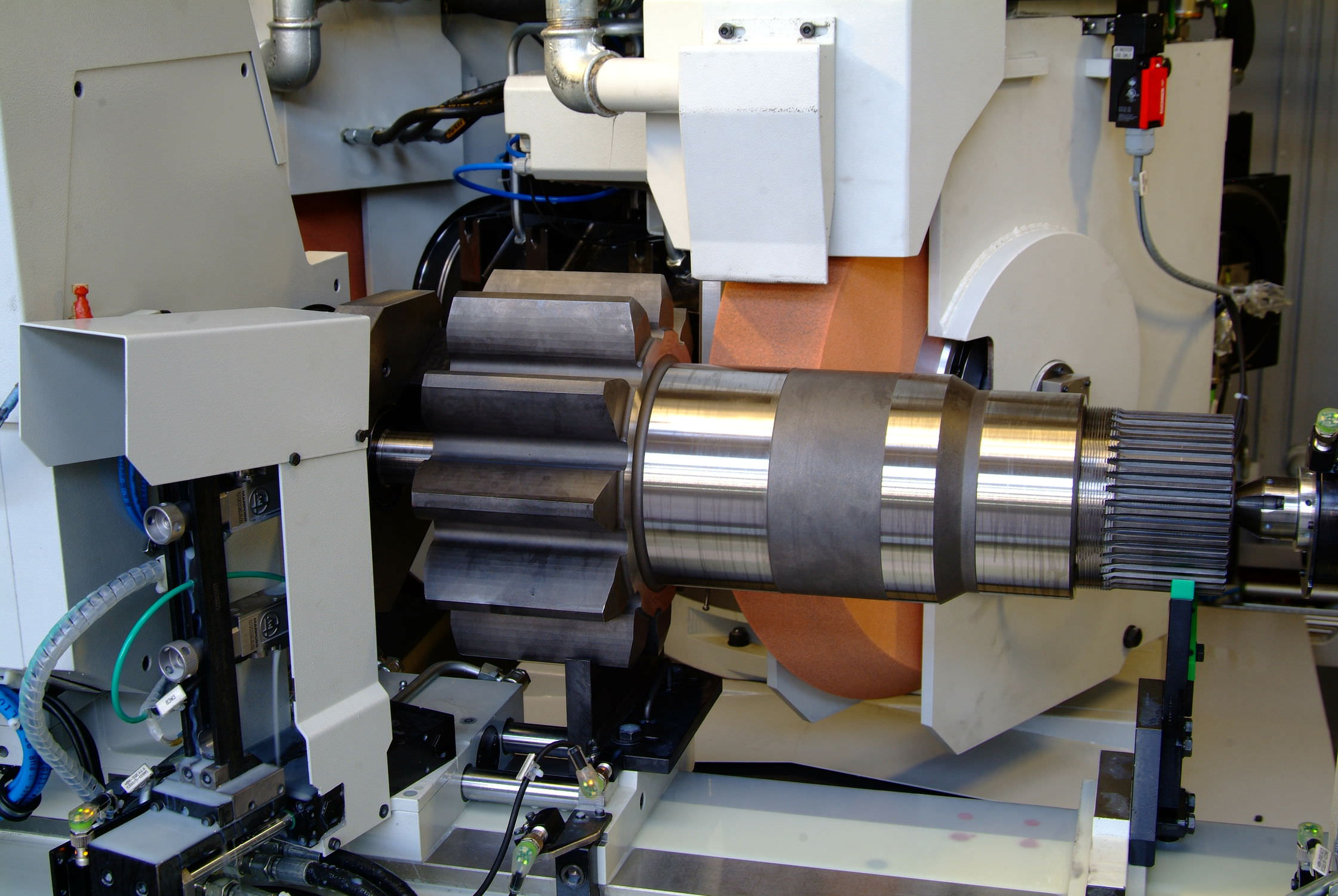Grinding and Spindle Cooling